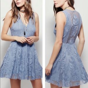 Free People Reign Over Me Lace Dress 4